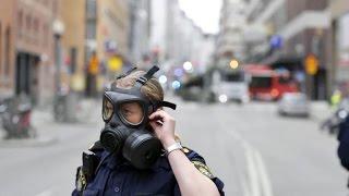 Manhunt underway for suspect in Sweden truck attack