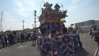 潮来市新元号天皇陛下御即位記念曳き 2019年5月12日.
