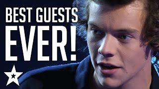 TOP 5 Guest Performances on Got Talent | Taylor Swift, One Direction & More! | Got Talent Global