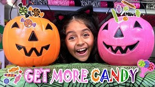 How To Get More Halloween Candy : The Evangeline Show // GEM Sisters