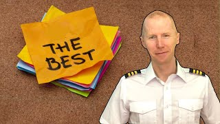 Airline Pilot: What is the BEST part of flying for a living