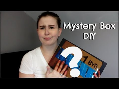 DIY With an Ebay Mystery Box! Challenge