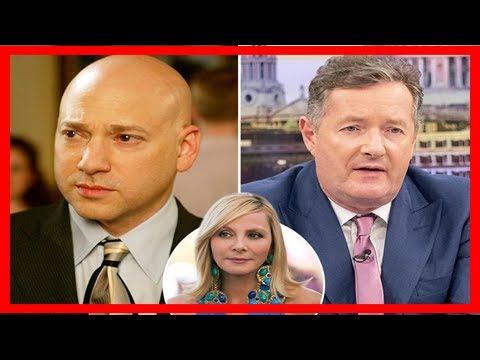 and the city's evan handler calls piers morgan a 'nasty liar' following his claims that kim cattra