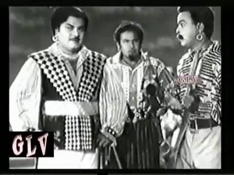 Yanai Pagan Part-4 (1960)Tamil Movies Movie Cast;Uday Kumar, B. Saroja Devi, P.S.Veerapa