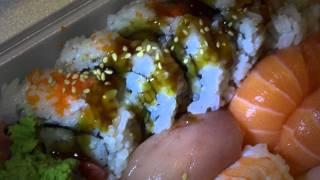 sushi unboxing.