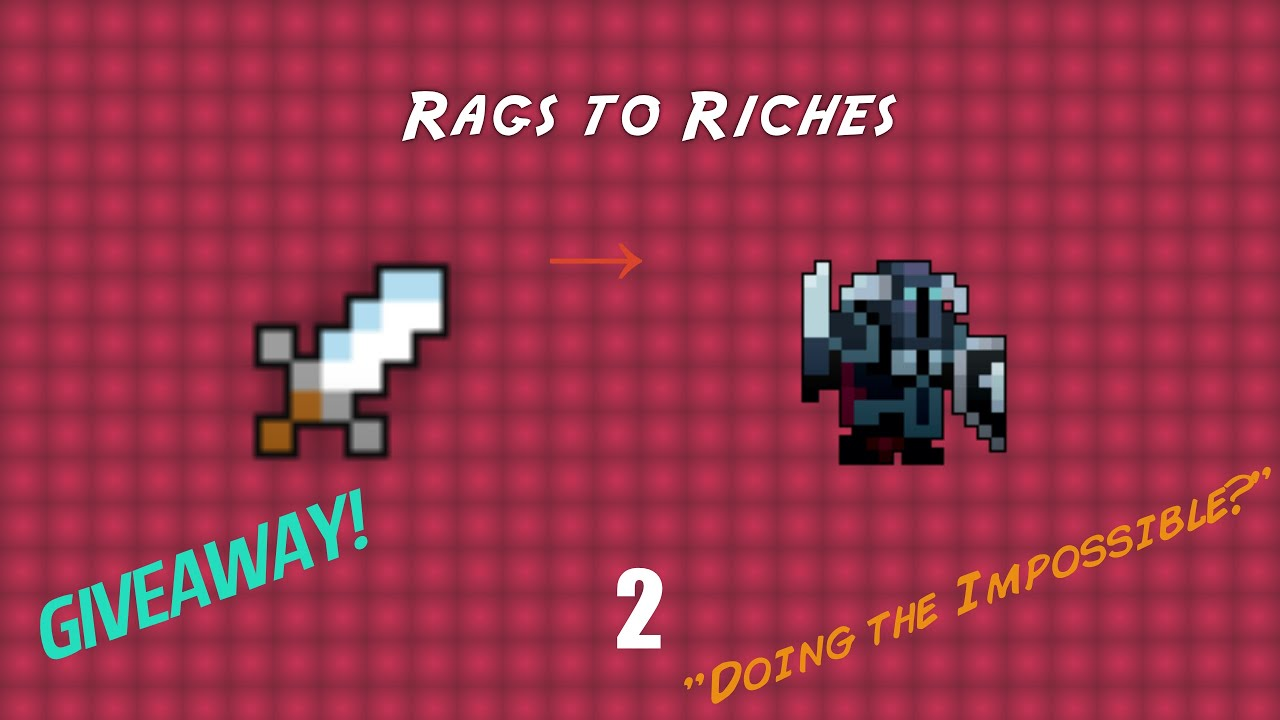 RotMG : Rags to Riches 2 - Dirk to Oryx Set!!! (GIVEAWAY OVER)