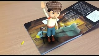 Augmented Reality Books: Safari Animals, World of Fairytales (Paparmali)