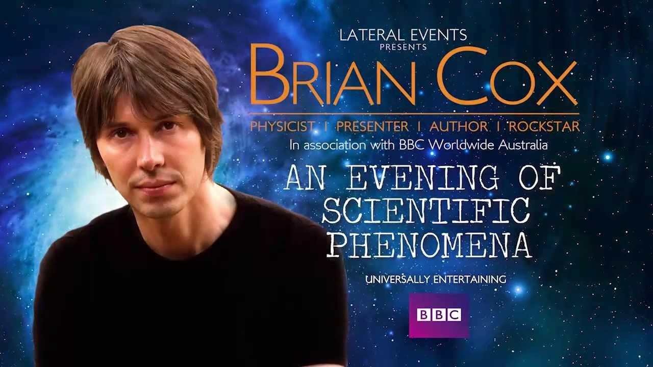 Professor Brian Cox Australian Tour