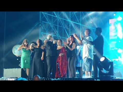 Finale concerto Nino D'angelo 6.0. 24 Giugno 2017 stadio San Paolo. Forza Napoli. Delirio assoluto