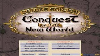 Conquest of The New World gameplay (PC Game, 1996)