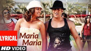"""Maria Maria"" Lyrical | Partner | Salman Khan, Lara Dutta | Sonu Nigam, Sajid, Sunidhi Chauhan"