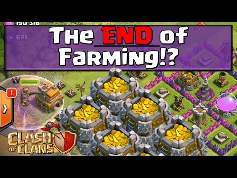 Clash of Clans - Are Farmers DOOMED!? (UPDATE NEWS)