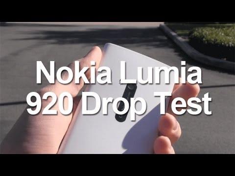Nokia Lumia 920 Drop Test