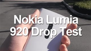 Nokia Lumia 920 Drop Test