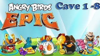 Angry Birds Epic - Unlocked Blue Master Spier - Cave 1 - 8