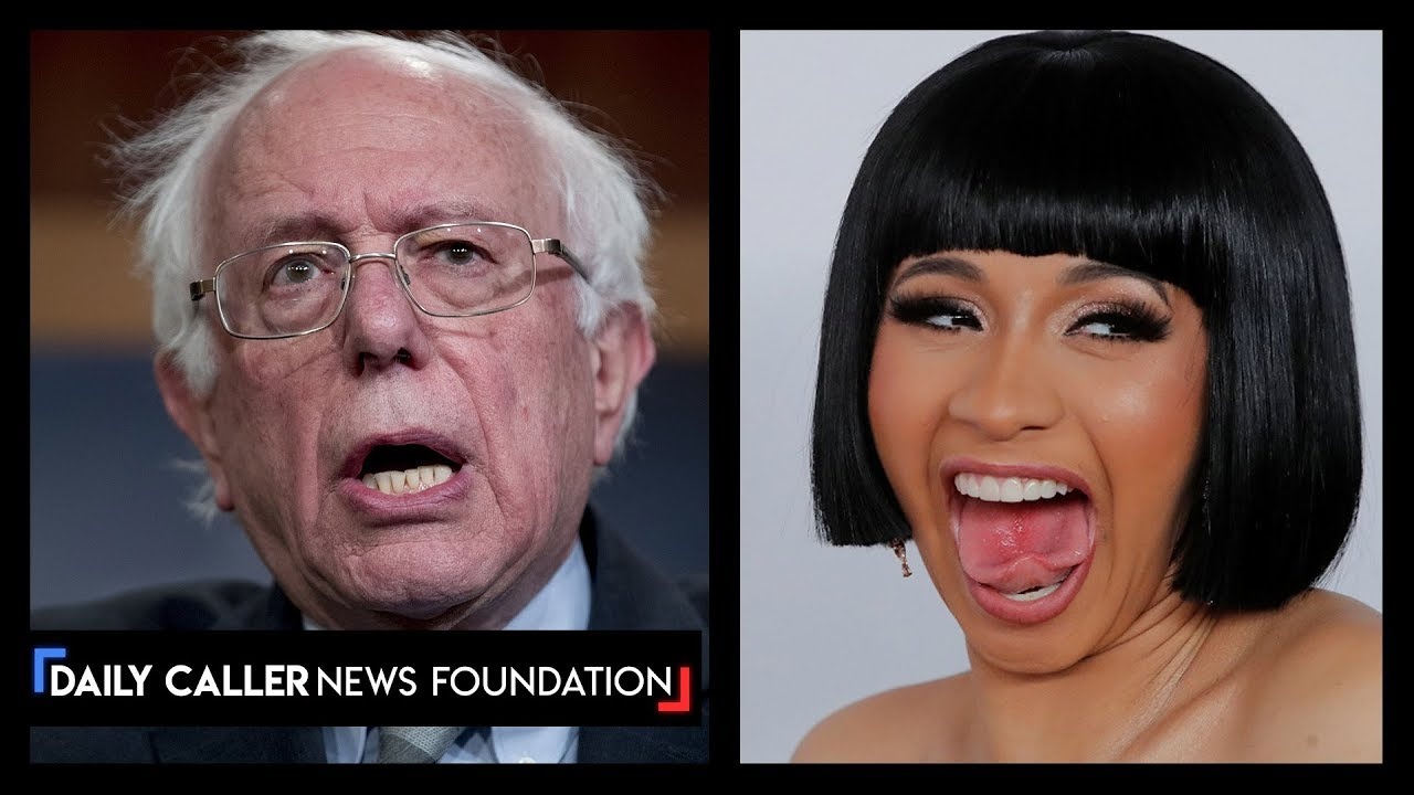 Cardi B's Cringey Interview With Bernie Sanders