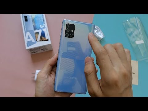 Samsung Galaxy A71 5G Unboxing and Review