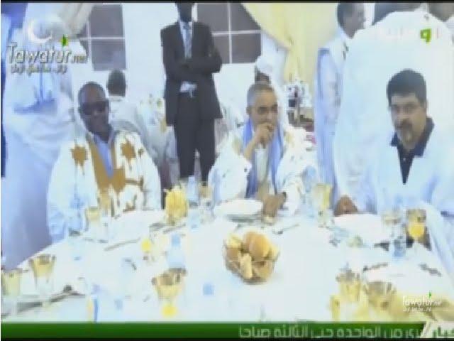 رئيس حزب الإتحاد من أجل الجمهورية ينظم حفل إفطار للأغلبية الحاكمة - قناة الوطنية