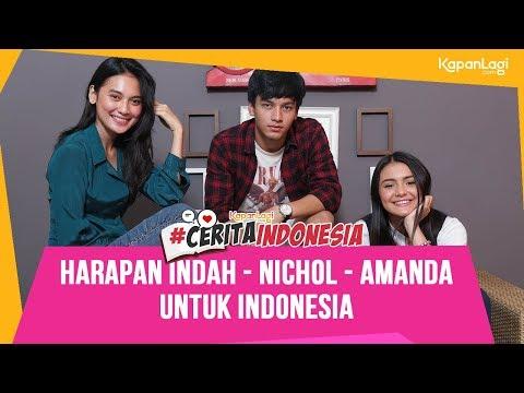Amanda Rawles - Jefri Nichol - Indah Permatasari: Indonesia Itu Keren Kalau...