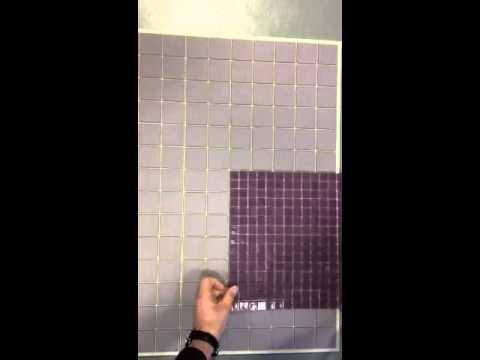 Choix des mosa que carrelage dans les tons mauves youtube for Carrelage youtube