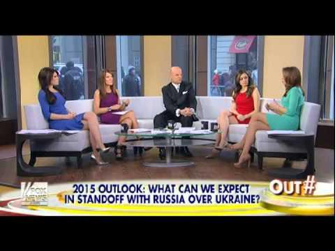 Kimberly Guilfoyle & Jedediah Bila & Joanne Nosuchinsky & Dagen McDowell hot legs 01/02/15