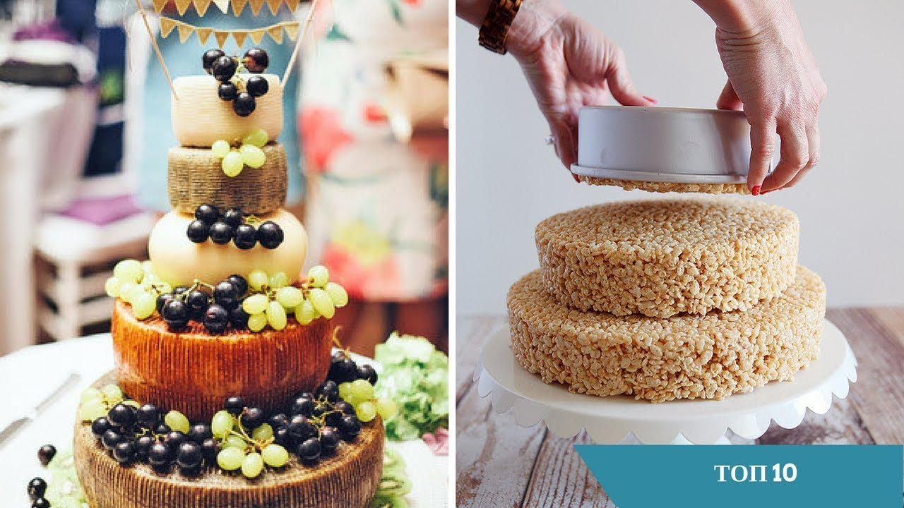 Топ 10 удивительных украшений тортов на день рождения - секреты мастеров