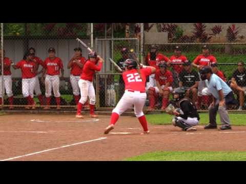UH Hilo Girls Vulcans Softball Team vs HPU Sharks 2017