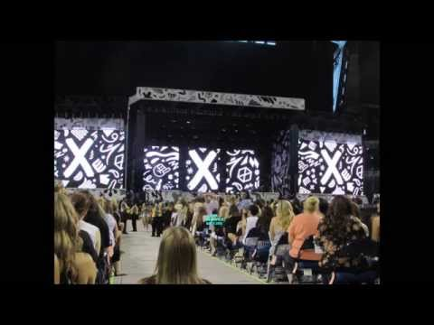 OTRA #1 indianapolis July 31 + DRAG ME DOWN 1st TIME LIVE?!