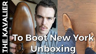 To Boot New York Emmett Monk Strap Unboxing