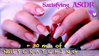 💟 It seems the same BUT it isn't!🤩 It's ONLY Nail-S C R A T C H I N G . + 30 min of Binaural ASMR! 😍