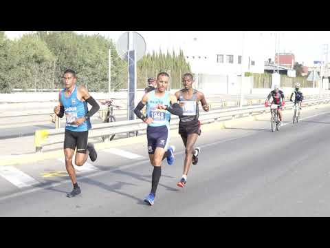 Vídeo Moto Media Maratón Sevilla Los Palacios 2019 Parte 1