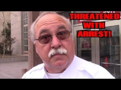 1st Amendment Audit, Van Nuys Courthouse: Threatened With Arrest!