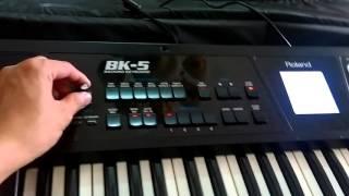 Hướng Dẫn Đặt Hợp Âm Organ Roland BK5 Đơn Giản Nhất