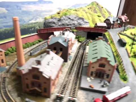 N Gauge Railway  in a case