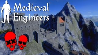 Finally Building The Church | Building Vader Hall Part 6 | Medieval Engineers
