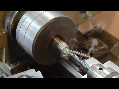 Machining a stainless steel ring