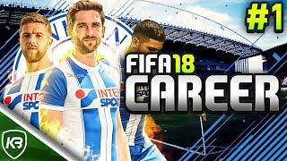 LET'S DO THIS! FIFA 18 WIGAN CAREER MODE #1