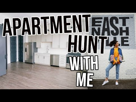 APARTMENT HUNTING FOR MY NEW NASHVILLE APARTMENT: Moving Vlog || Sarah Belle