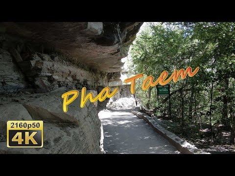 Pha Taem And Two Color River - Thailand 4K Travel Channel