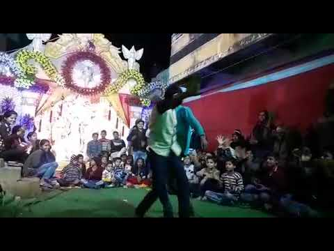 Sarswati puja dance programme Blue star youth club Thoripandey pur P.O. murar District Buxar Bihar