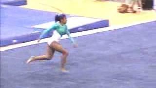 Lisa Marzan - 2001 US Classic - Floor Exercise - First Dos Santos
