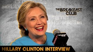 Hillary Clinton Talks SNL, Being Cubs Fan, Her Love of Dance Parties and Presidential Debates by : Breakfast Club Power 105.1 FM