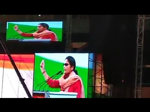MP Sushmita Dev letest speech | president ofAll India Mahila Congress | 84th planery session