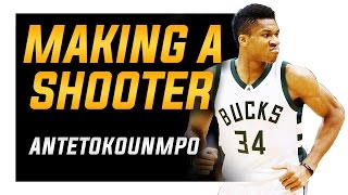 How to Make Giannis Antetokounmpo a Lights-Out Shooter! Shooting Form Breakdown