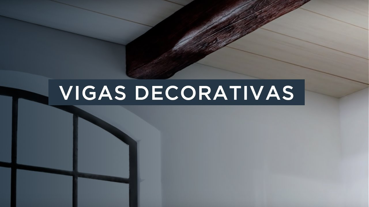 Vigas decorativas nmc youtube Vigas de madera decorativas