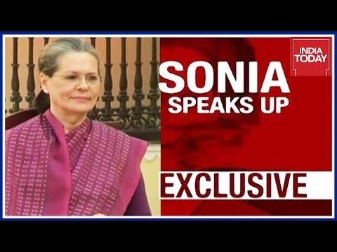 Exclusive: Sonia Gandhi