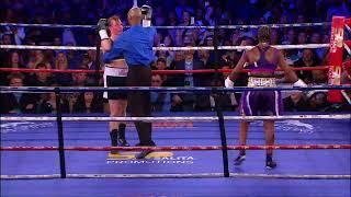 CLARESSA SHIELDS NATIONAL TV DEBUT VS SZILVIA SZABADOS FULL FIGHT