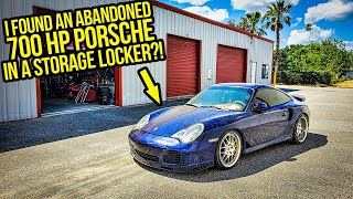 I Found An ABANDONED 700-HP Porsche Turbo In A Storage Locker (Forgotten For YEARS)