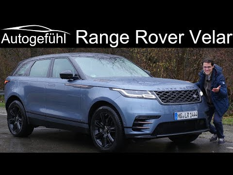 The new definition of luxury? Range Rover Velar FULL REVIEW - Autogefühl