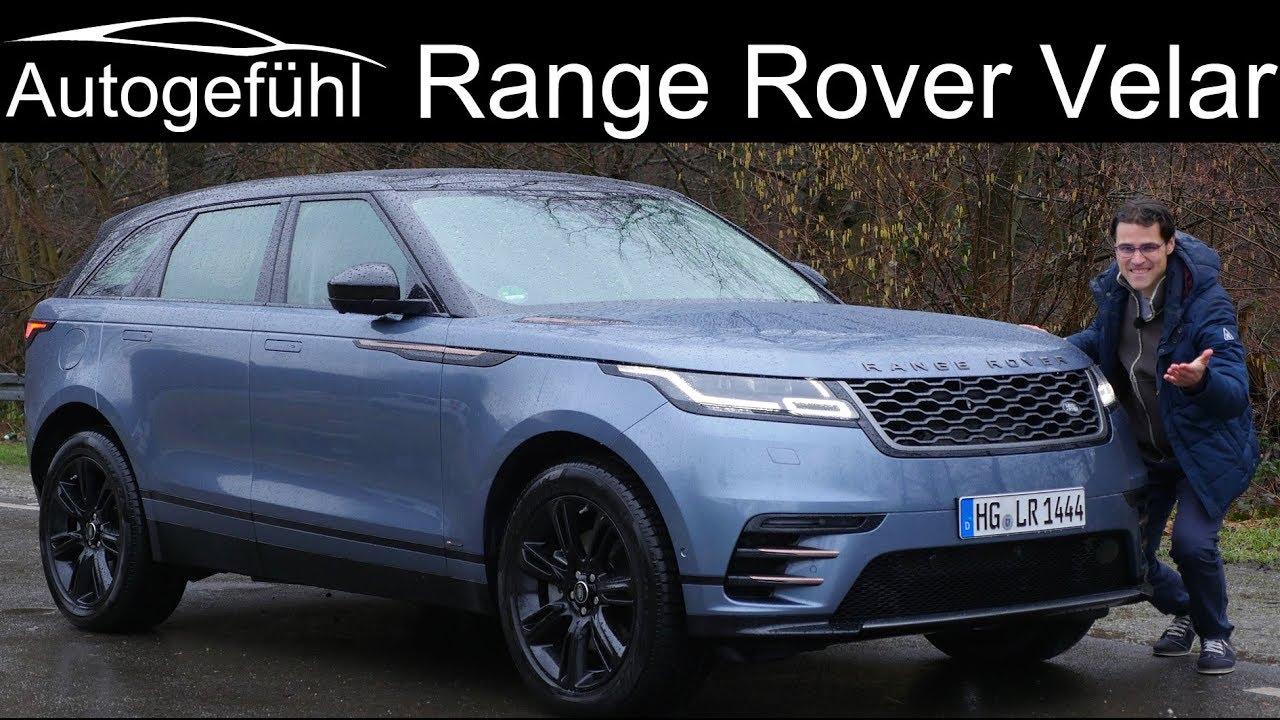 The new definition of luxury? Range Rover Velar FULL REVIEW - Autogefühl - Dauer: 36 Minuten